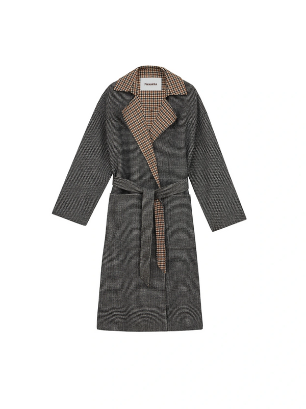 ALAMO REVERSIBLE ROBE COAT