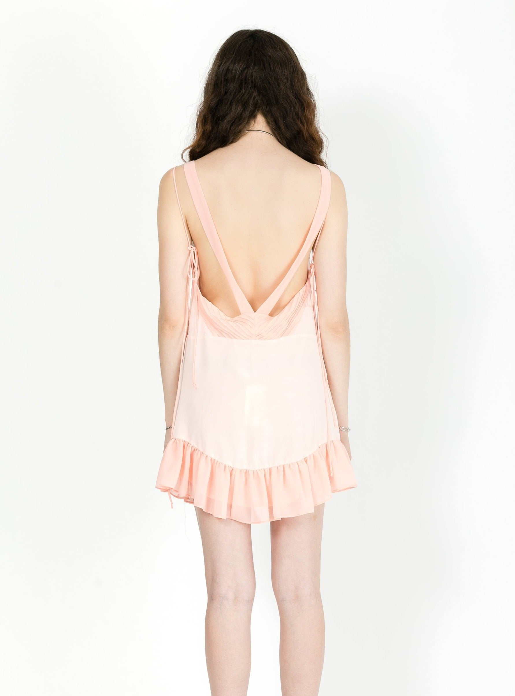 LOUISE TRAPEZE MINI DRESS