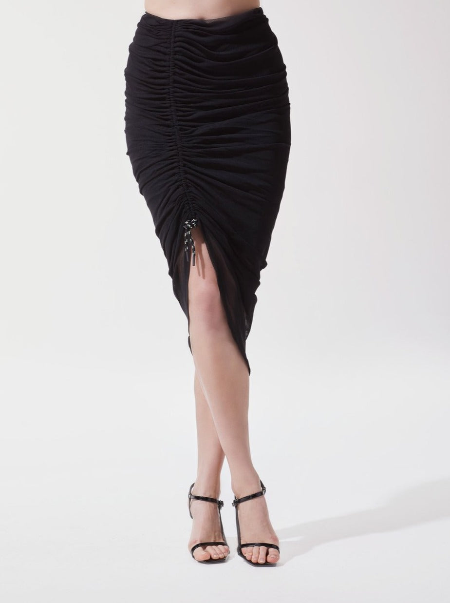 BLACK SHADE SKIRT