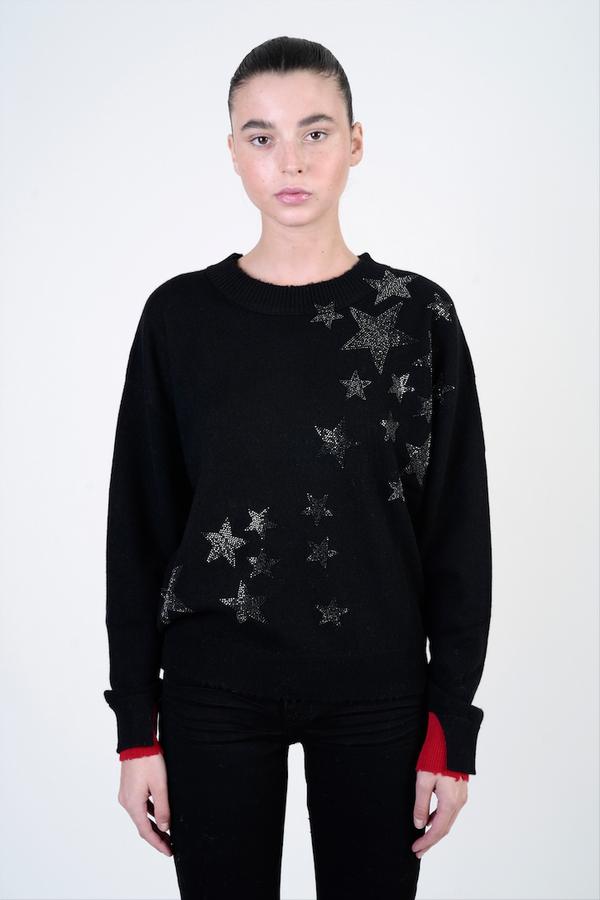 GABY STAR CASHMERE SWEATER