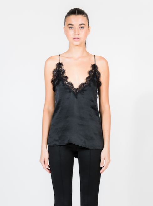 THE BLACK EVERLY CAMI