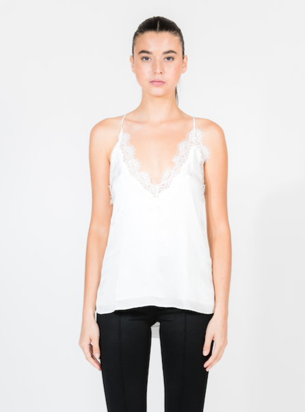 THE WHITE EVERLY CAMI