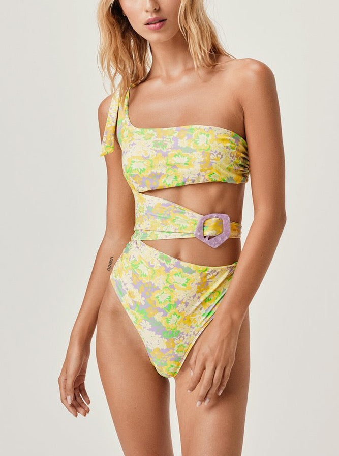 FREEDOM FLORAL ONE PIECE