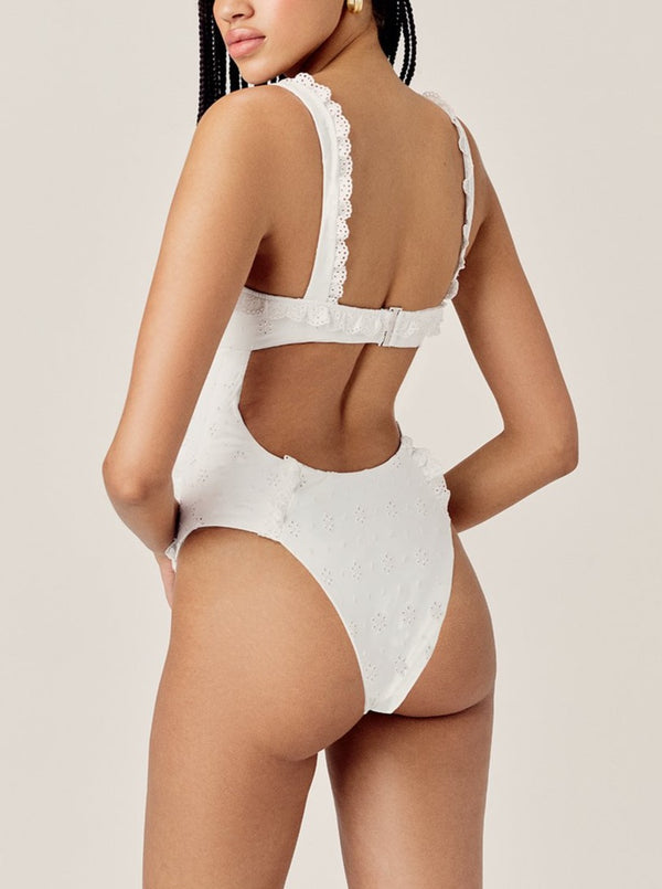 WHITE ROWAN ONE PIECE
