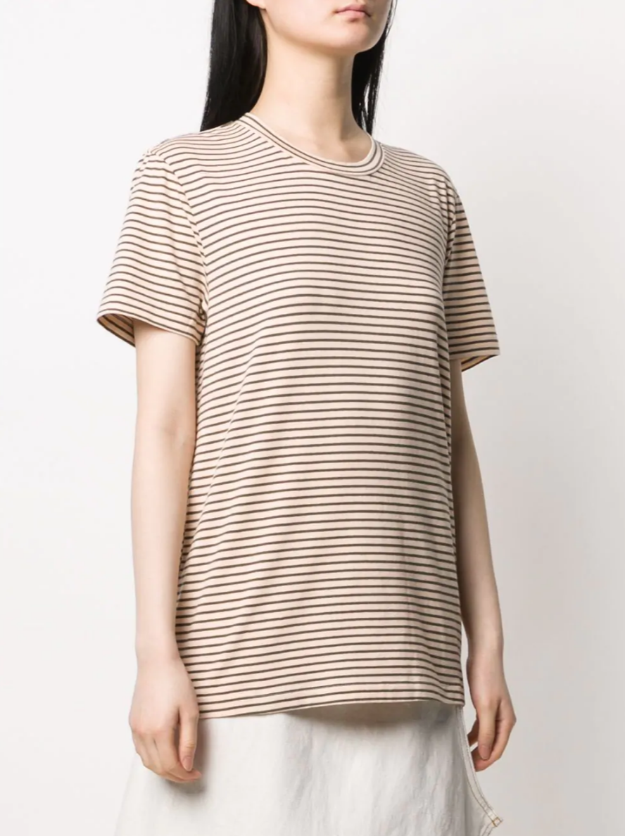 BEIDGE TEE WITH STRIPE