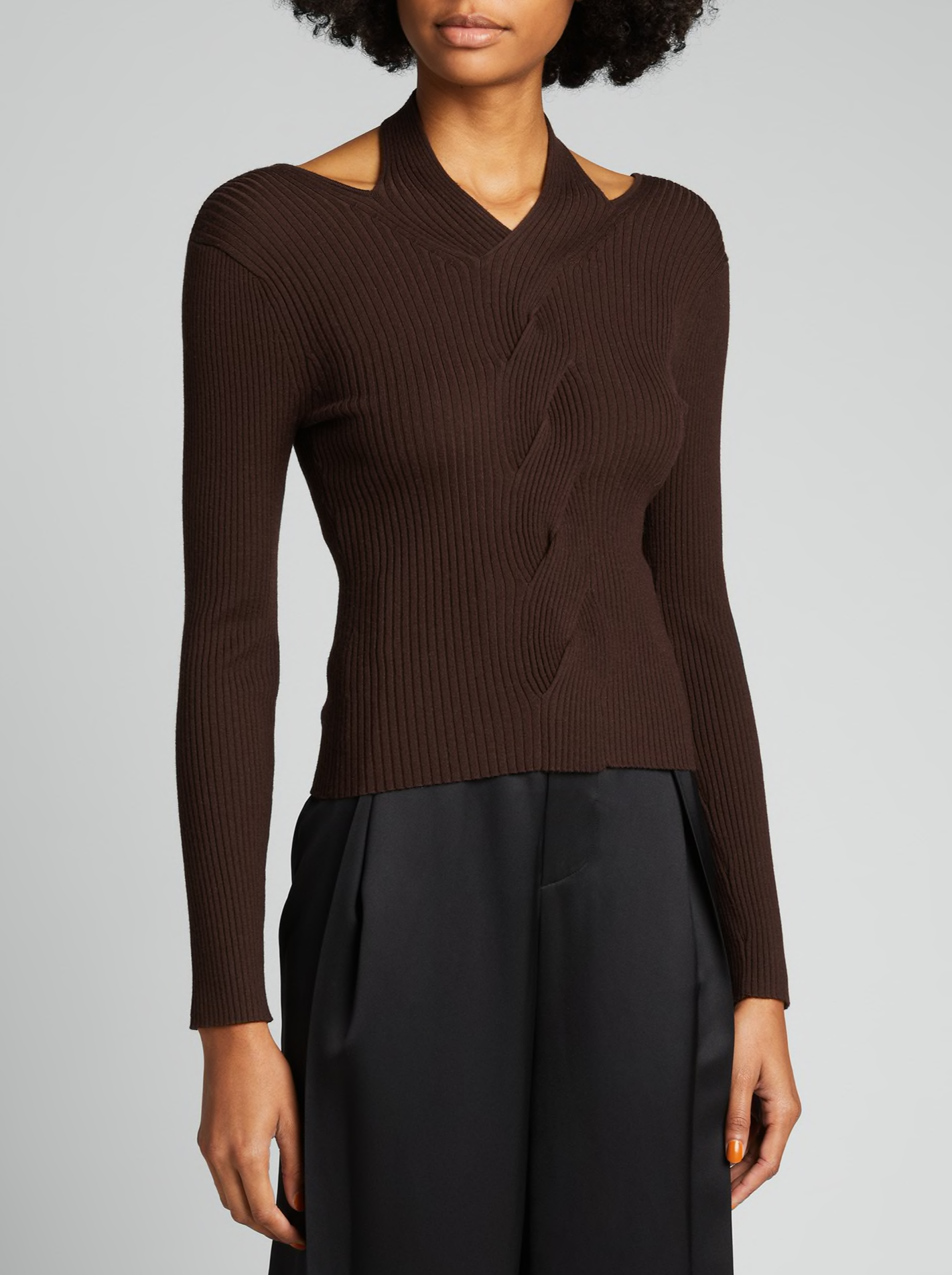 CLOVE LEAH RIBBED KNIT