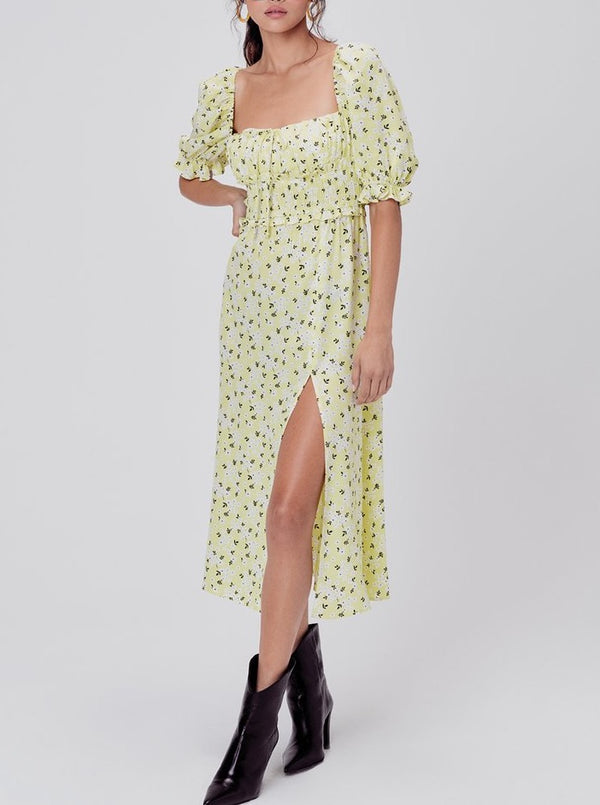CHRYSANTHEMUM MIDI DRESS