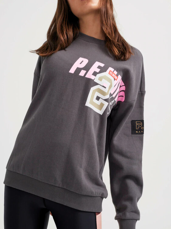 GREY GOAL LINE SWEATSHIRT