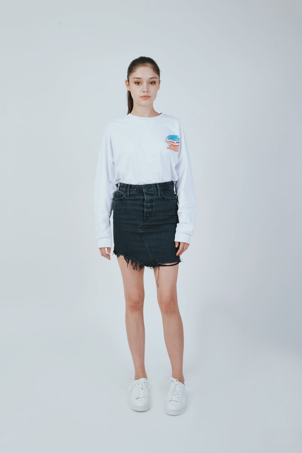 RHODA HIGH LOW MINI SKIRT