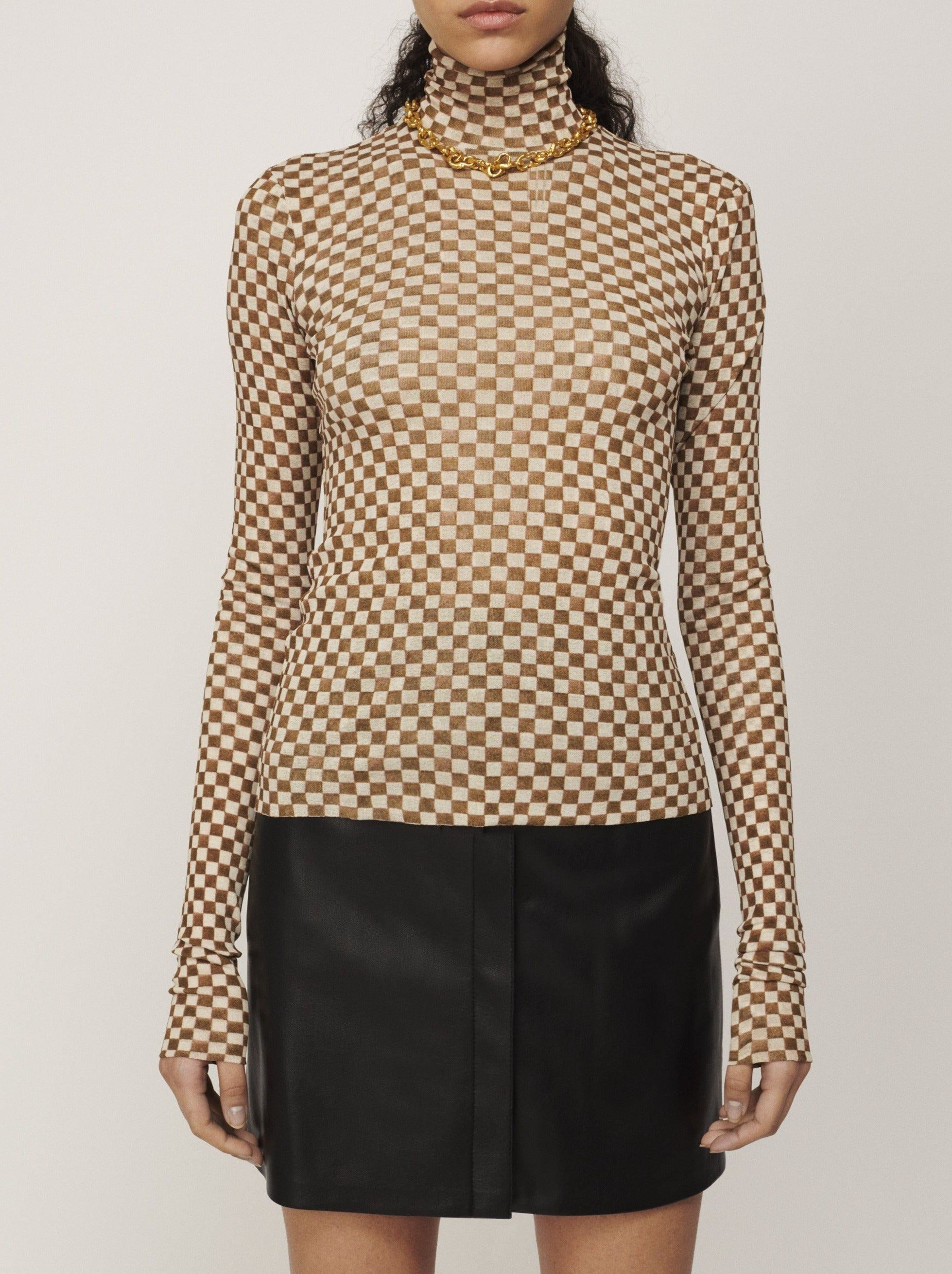 HARRI MESH JERSY TOP