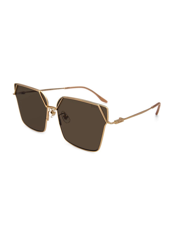 FADING BROWN ATTENTION SUNGLASSES