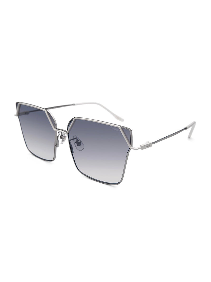 FADING BLUE ATTENTION SUNGLASSES
