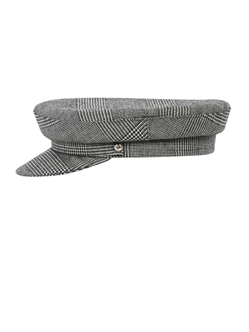 PLAIDS GREEK FISHERMAN HAT