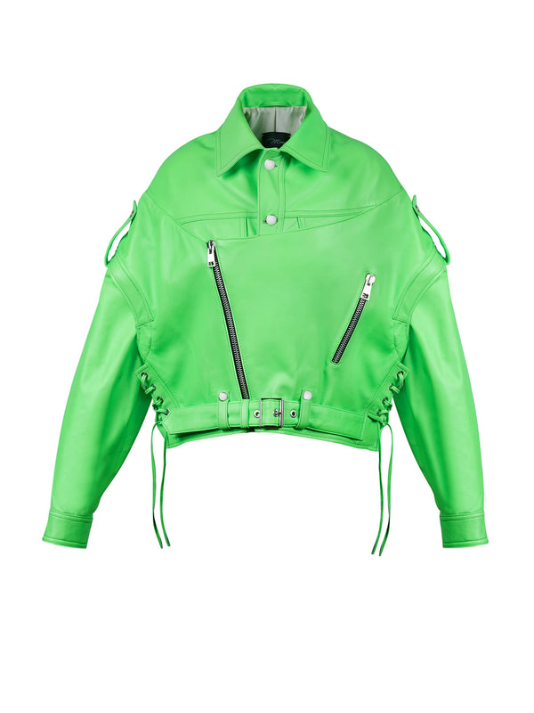NEON GREEN VINTAGE OVERSIZED JACKET