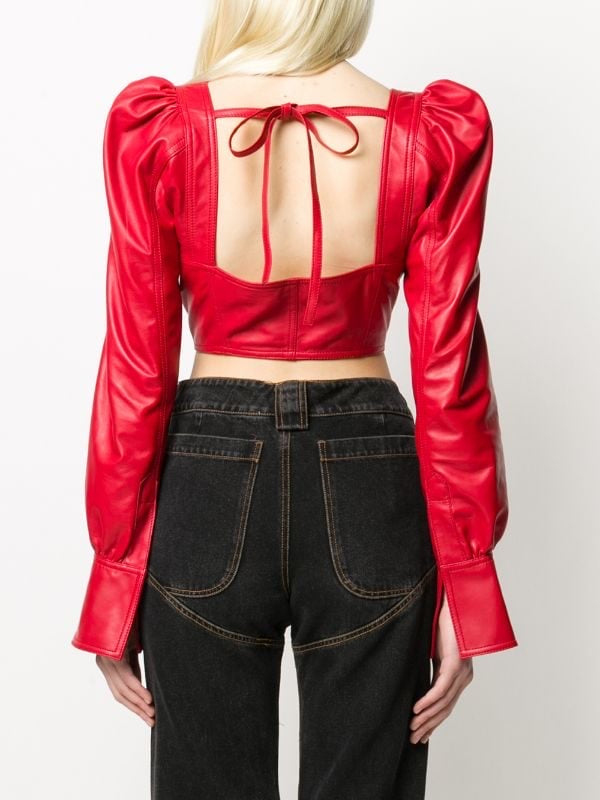 RED ALIA TOP