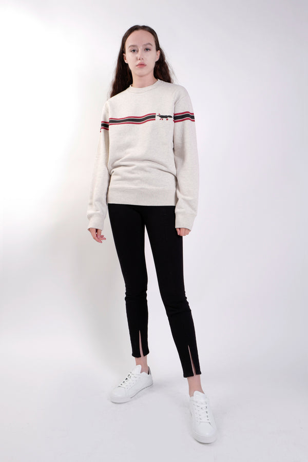 GREY FOX LINING SWEATSHIRT