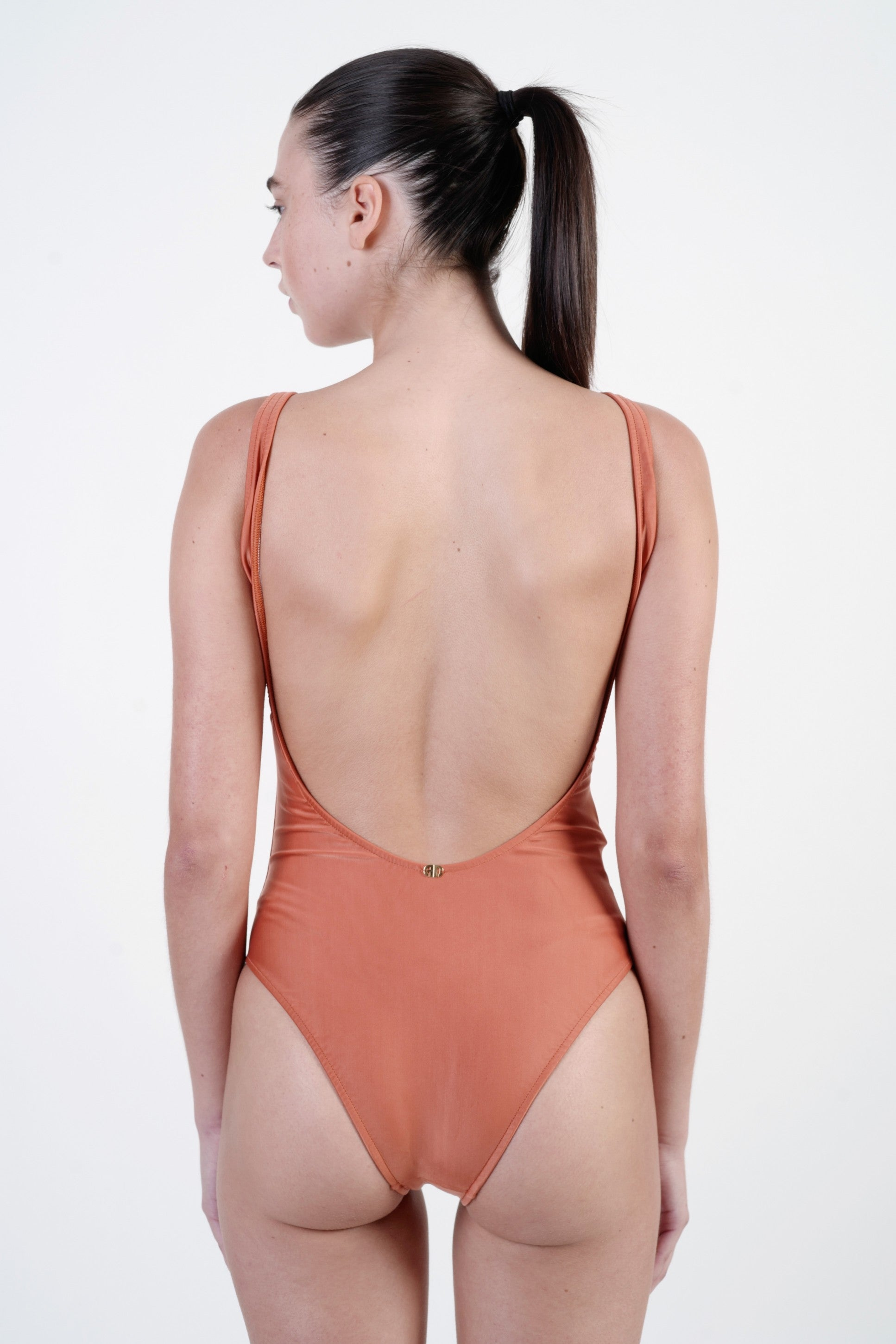 ORANGE COWBOYS MAKE BETTER LOVERS SWIMSUIT
