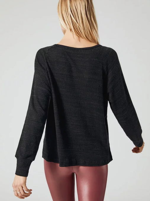 VINE SLUB SWEATER TOP