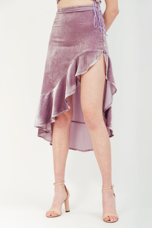LILAC VIVA HIGH LOW SKIRT
