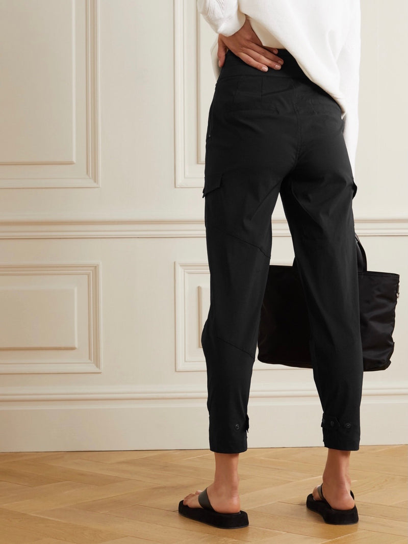 BLACK DALLAS CROPPED PANT