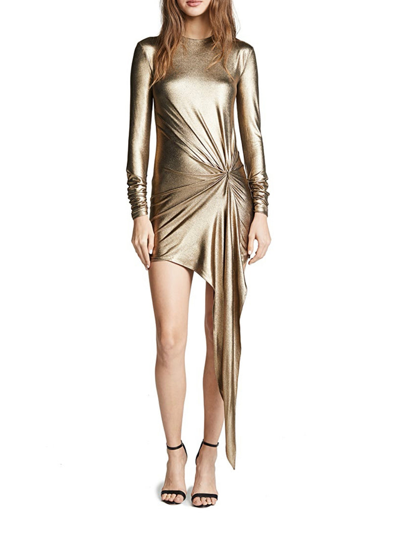 GOLD HADDASAH DRESS