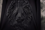 All Black Everything Lion