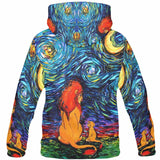 Starry Lion King Hoodie