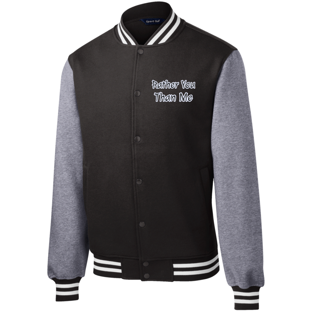 RYTM Fleece Letterman Jacket