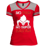 Super Saiyan Varsity V-Neck T-Shirt