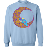Peaceful Moon Crewneck Sweatshirt