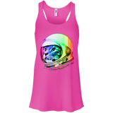 Space Kitty Flowy Racerback Tank