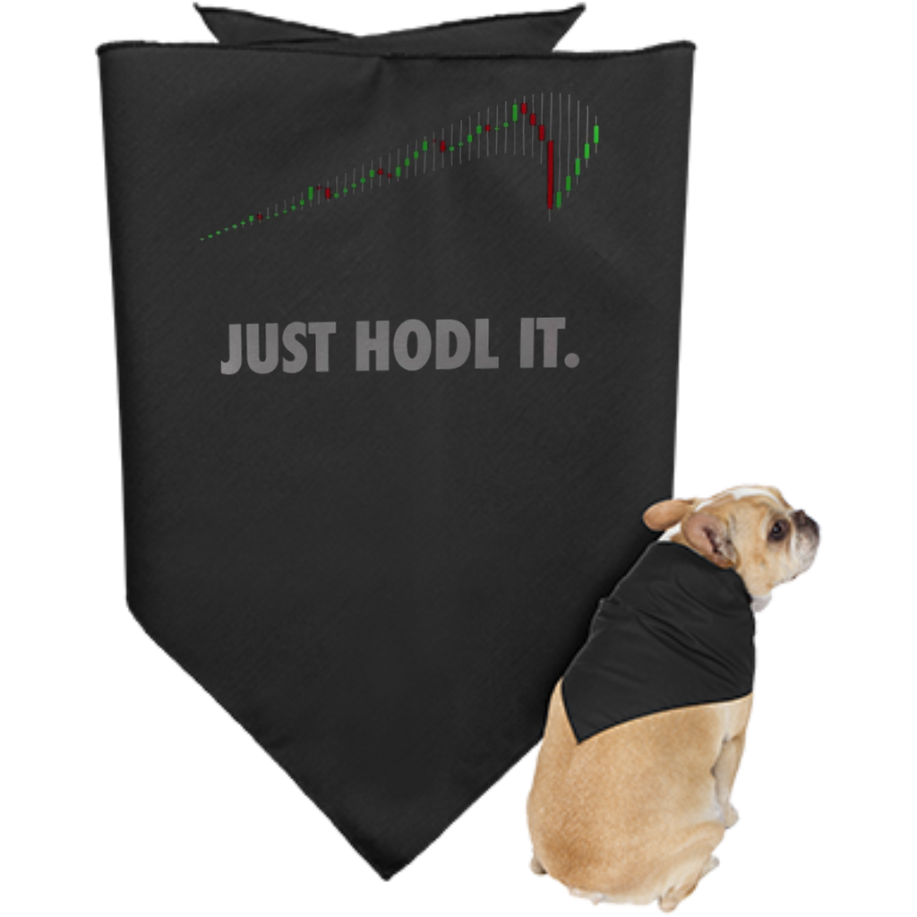Cryptocurrency Doggie Bandana