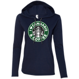 Cannabis & Coffee Ladies Hoodie