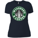 Cannabis & Coffee Ladies T-shirt