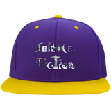 Science Fiction Flat Bill High-Profile Snapback