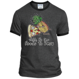 Pineapple Pizza Ringer Tee