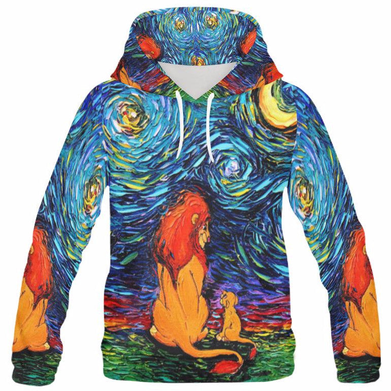 41a12eb9 Starry Lion King Hoodie