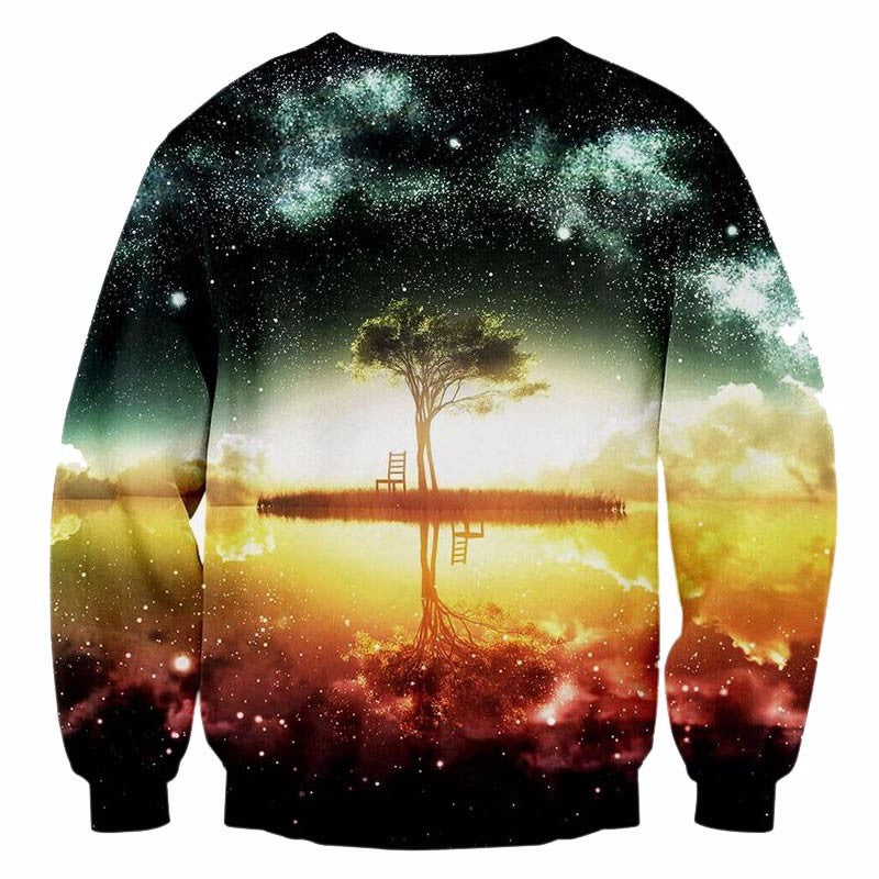Galaxy Tree Sweatshirt