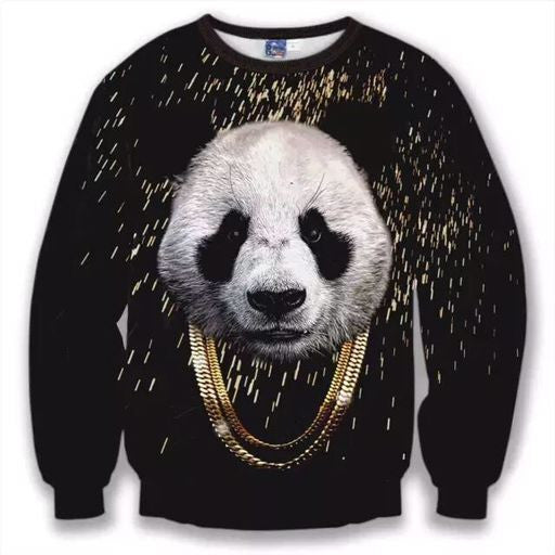 Panda Gold Sweatshirt
