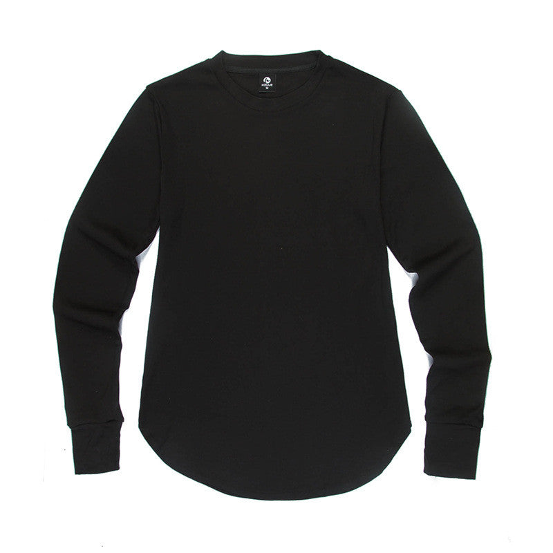 Long Sleeve Extended Round Bottom