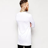 Long Sleeve Extended Flat Bottom