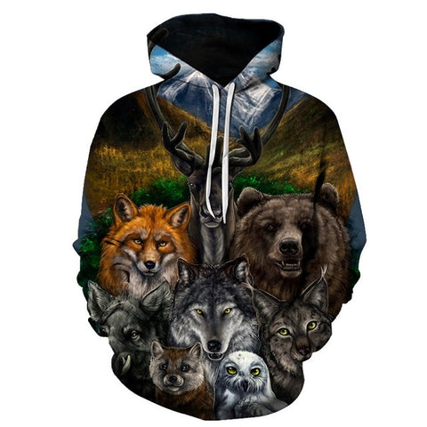 Animal Kingdom Hoodie