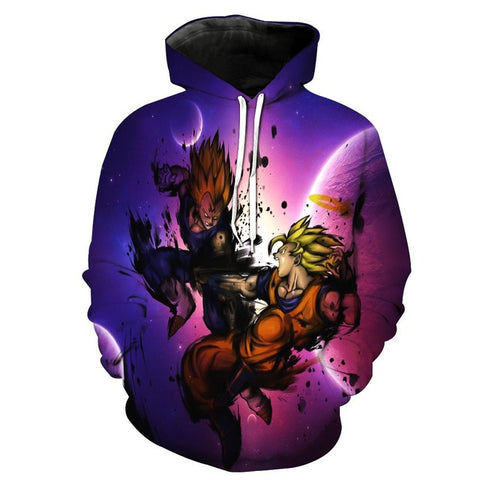Dragon Ball Z Space Hoodie