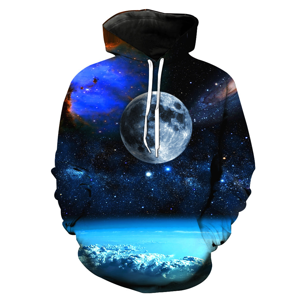 Distant Planet Galaxy Hoodie