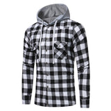 Plaid Spice Casual Hoodie