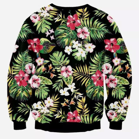 Winter Floral Sweatshirt