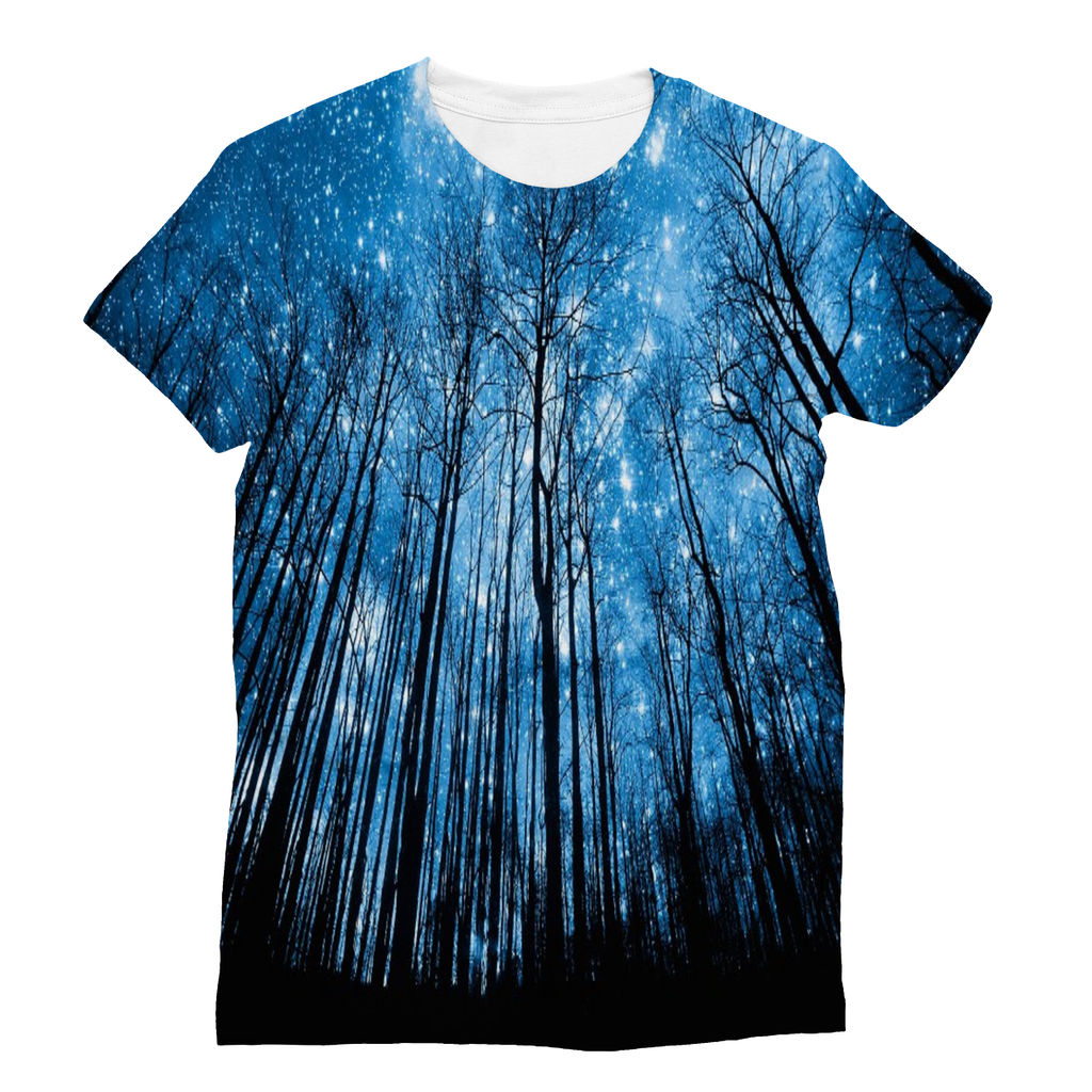 Enchanted Forrest Galaxy T-Shirt