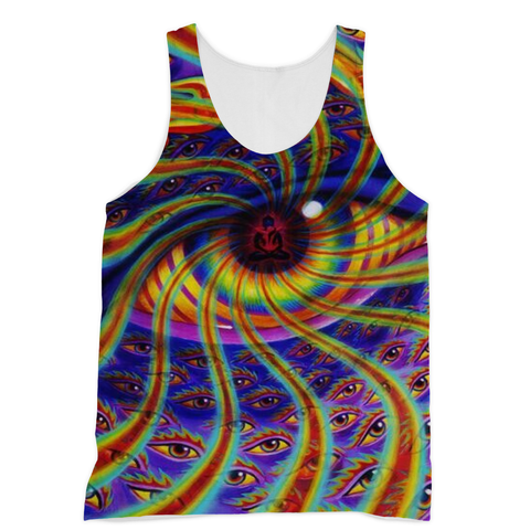 Psychedelic Eye Sublimation Vest