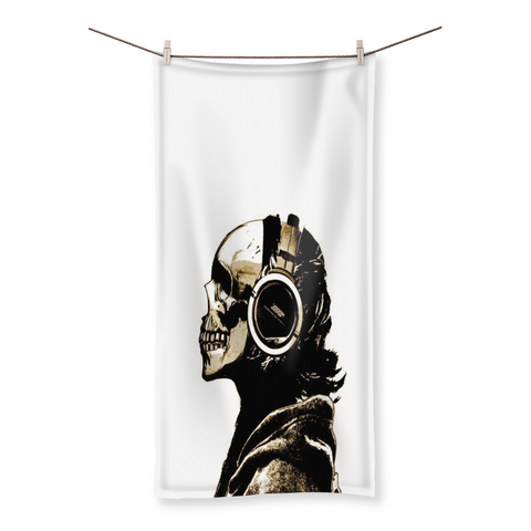 Musical Death Beach Towel