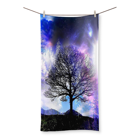Dreamer Galaxy Beach Towel